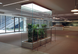 vitrine végétale pour PariSquare