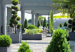 Une terrasse pour travailler heureux !